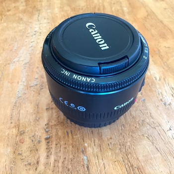 """Rent Canon EF 50mm f/1.8 II lens (known as the """"Nifty Fifty"""")"""