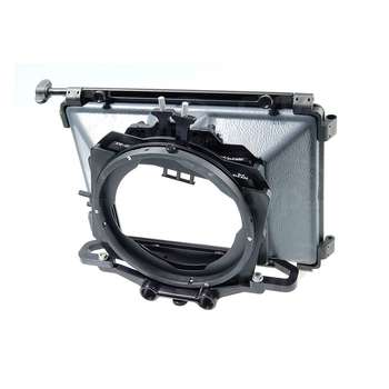 Rent Chrosziel MB-415 Mattebox kit with 114mm, and 95mm, step down rings and French Flag Super 16mm