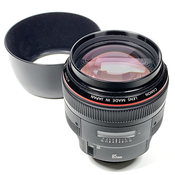 Rent Impressive optical performance and large aperture when using the EF 85mm f/1.2