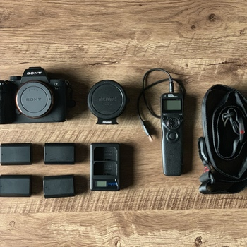 Rent Sony A7iii with Metabones EF adapter and extras