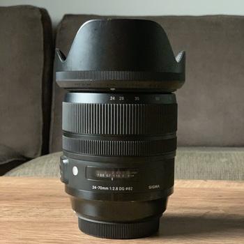 Rent Sigma 24-70mm f2.8 os ART lens EF Mount