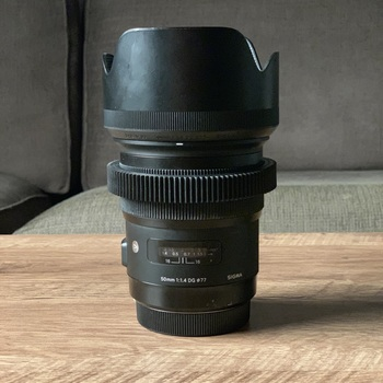 Rent Sigma 50mm f/1.4 DG HSM Art Lens