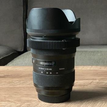 Rent Sigma 24-35mm f/2 DG HSM Art Lens for Canon EF