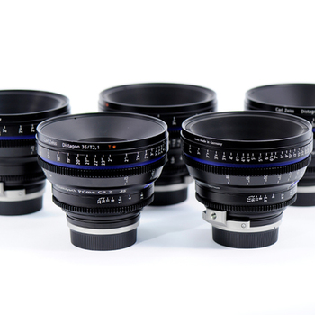 Rent Zeiss CP.2 SuperSpeed Lens Set (35mm, 50mm, 85mm T1.5)