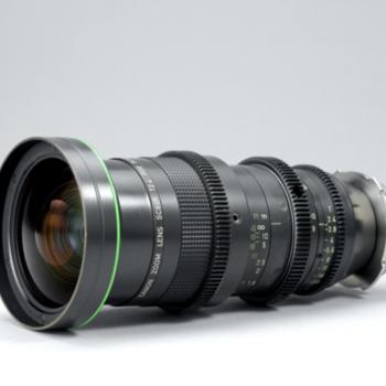 Rent Canon 8 - 64mm T2.4 Super 16 Zoom