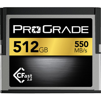 Rent ProGrade 512GB Cfast Card