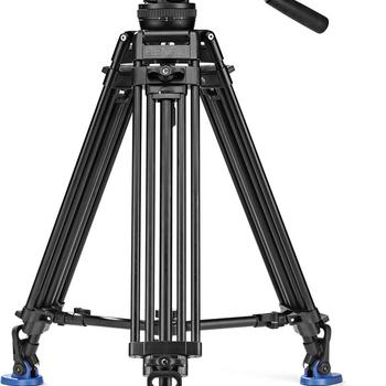 Rent Benro BV10 Tripod with Video Head - Conveniently Located in Midtown Manhattan (Hells Kitchen)