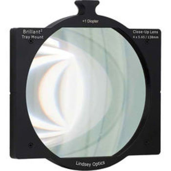 "Rent Lindsey Optics 4x5.65"" +1/2 Diopter Tray Mount"