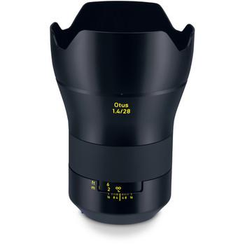 Rent Zeiss Otus 28mm f1.4 EF with focus gears