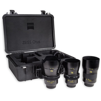 Rent Zeiss Otus ZE Prime set-- 28, 55, 85 1.4 with gears for FF