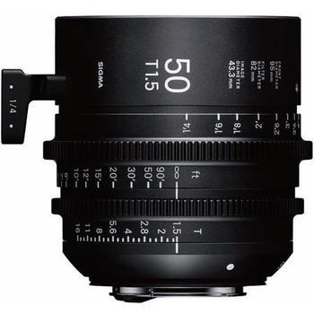Rent Sigma Cine 85mm T1.5 EF