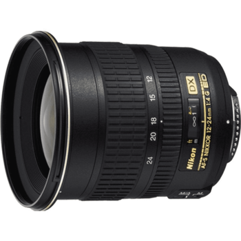 Rent Nikon Nikkor 12-24mm F/4 G Aspherical ED IF DX SWM AF-S Autofocus Lens For APS-C Sensor DSLRS {77}
