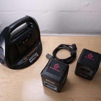 Rent 2 Anton Bauer G90 Gold Mount 90Wh Digital Battery - Located in Midtown Manhattan (Hells Kitchen)