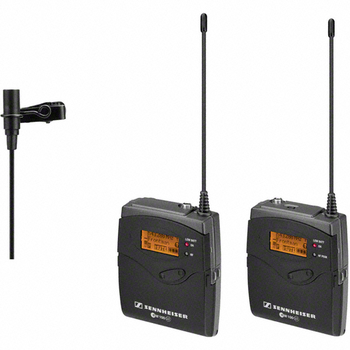 Rent 2 Sennheiser G3 wireless lavalier microphones