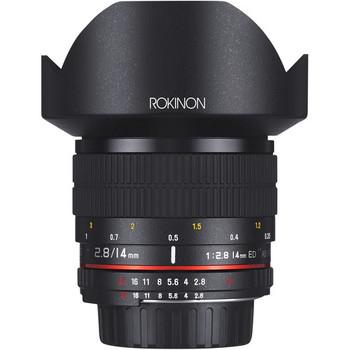 Rent Rokinon 14mm f/2.8 Canon
