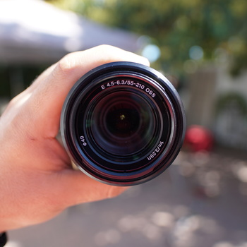 Rent Sony 55-210 Zoom Lens