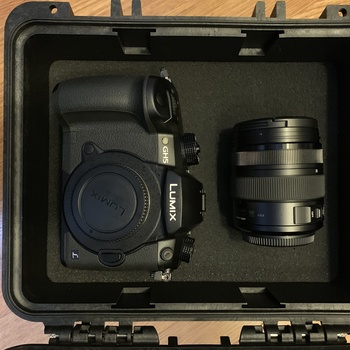 Rent Panasonic GH5 Body (V-LOG) with 12-35mm f/2.8 II Lumix Lens