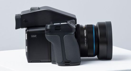 Xf iq4 150mp camera system side view