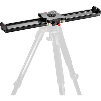 """Rent Portable Tripod-Mounted Heavy Duty 24"""" Slider with Manfrotto 504HD head (holds up to 16lb payload)"""