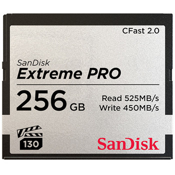 Rent (2) 256GB Sandisk CFAST 2.0 cards