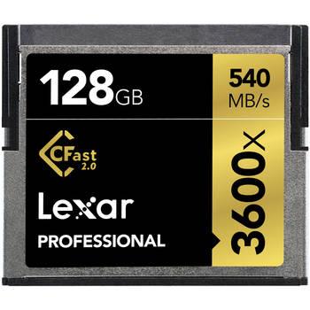 Rent Lexar 128GB Cfast 2.0 (3600x)