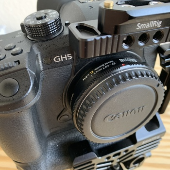 Rent Panasonic GH5