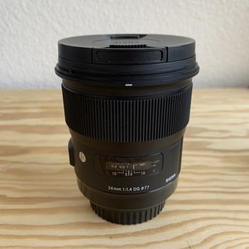 Rent Sigma 24mm f/1.4 DG HSM Art Lens for Canon EF