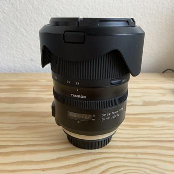 Rent Tamron 24-70 f/2.8 G2 - EF mount