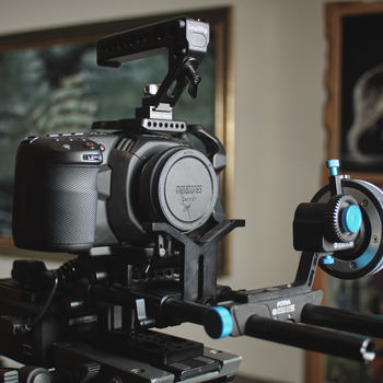 Rent Blackmagic Pocket 4K Camera Package / Metabones 0.71x EF Mount / 3 Lenses