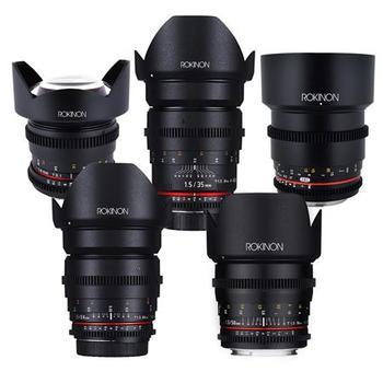 Rent Rokinon Canon EF Mount 5 Lens Kit