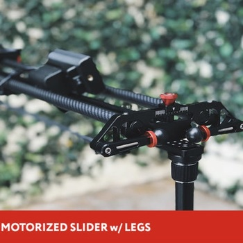 "Rent 31"" GVM Motorized Slider w/Legs"