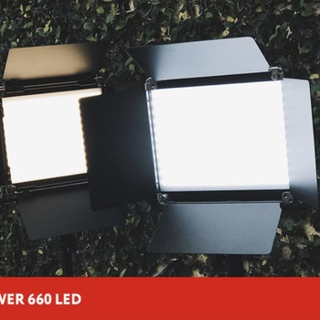 Rent Neewer 2 Pieces Bi-color 660 LED with carrying case