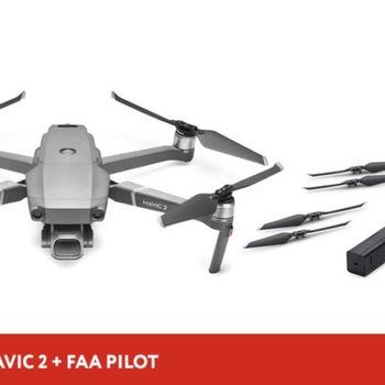 Rent DJI Mavic 2 Pro Drone + FAA pilot