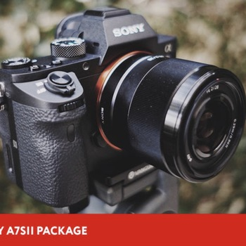 Rent Sony A7Sii 4K Package + Gimbal + Drone + Slider + Operator