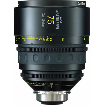 Rent Arri Zeiss 75mm T1.3 Master Prime Lens