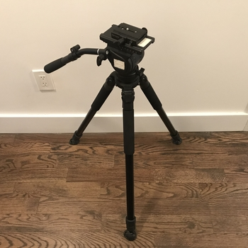 Rent Benro H8 head with Induro Aluminum Tripod Legs