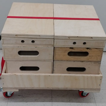Rent 2 Apple Box Familes w/Cart
