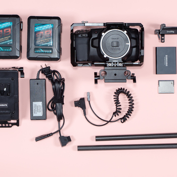 Rent BlackMagic Pocket Cinema 4k Full Rig (check listing for included items)