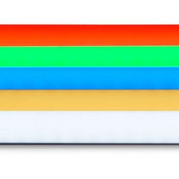 Rent 4' Quasar Science Q50 Rainbow 4 Tube LED Kit W Kino Shell