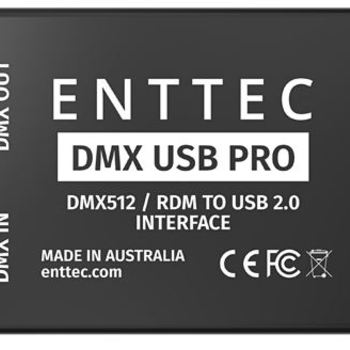 Rent Control your lighting with your laptop. USB to DMX interface for Mac or PC.