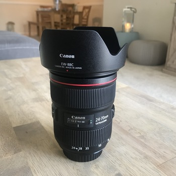 Rent Brand New Canon EF 24-70mm f/2.8 II USM Lens