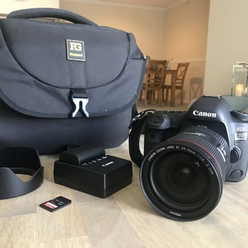 Rent Canon 5D Mark IV KIT w/ 24-70mm f/2.8 II Lens & more!