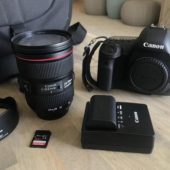 Rent Canon 5D Mark IV KIT w/ 24-70mm f/2.8 II Lens & more!