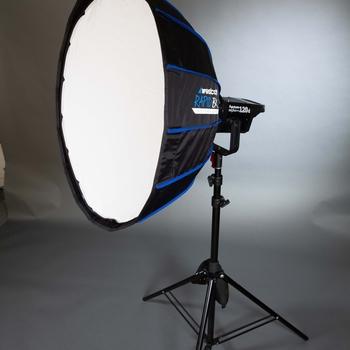 Rent Westcott Beauty Dish - Soft box setup  for Light Storm LS 120t 120d, 300d, and 300t