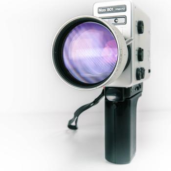 Rent SUPER 8mm Camera, 18-54 FPS, built in INTERVALOMETER!