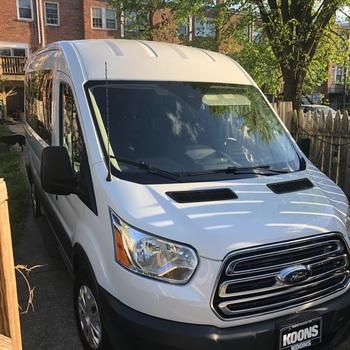 Rent Ford Transit XLT van