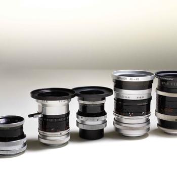 Rent C-Mount Lenses - Vintage Bolex Primes