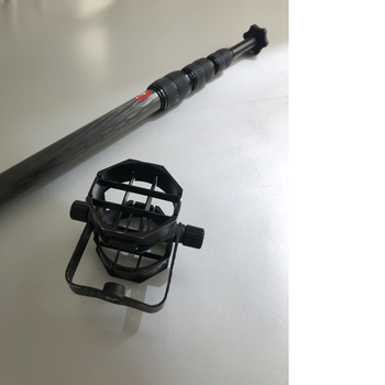 Rent Boom Pole (Carbon Fiber) with Microphone Shock Mount