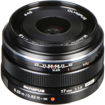 Rent Olympus M. Zuiko Digital 17mm f1.8-Great for Stabilizer and Gimbal