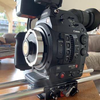 Rent Canon C300 Mark II PL Mount